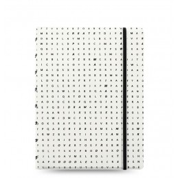 notebook-filofax-a5-impressions-collection-nerobianco