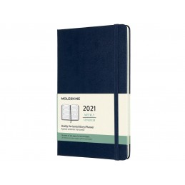 agenda-settimanale-moleskine-2021-formato-medio-blu-copertina-rigida