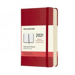 agenda-giornaliera-12-mesi-moleskine-2021-pocket-9x14cm-copertina-rigida-rosso