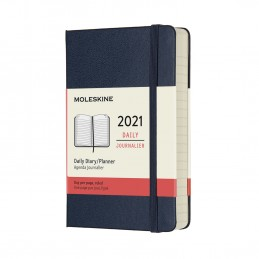 agenda-giornaliera-12-mesi-moleskine-2021-pocket-9x14cm-copertina-rigida-blu
