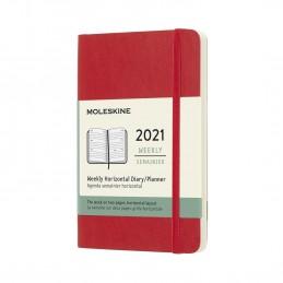 agenda-settimanale-orizzontale-12-mesi-moleskine-2021-pocket-9x14cm-copertina-rigida-rosso