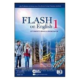 FLASH ON ENGLISH 1 +CD 1 +FLIP BOOK 1