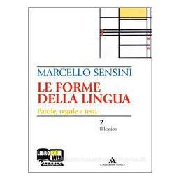 FORME DELLA LINGUA (2 TOMI) +CD ROM