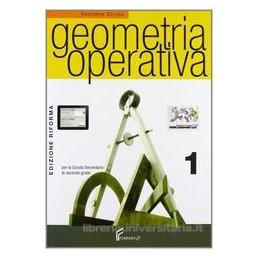 GEOMETRIA OPERATIVA 1 X BN LIC. +CD ROM