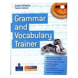 GRAMMAR AND VOCABULARY TRAINER +CD ROM