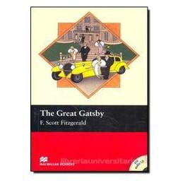 GREAT GATSBY +CD  INTERMEDIATE