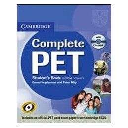 COMPLETE PET +CD ROM