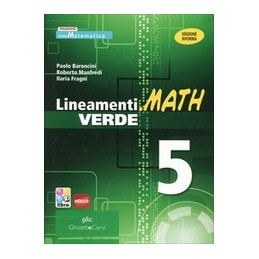 lineamentimath-verde-5-x-5-it-ebook