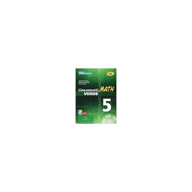 lineamentimath-verde-5-x-5-it-ebook