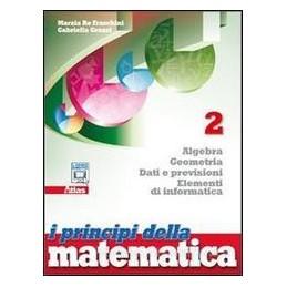 PRINCIPI DELLA MATEMATICA 2 X BN LIC.