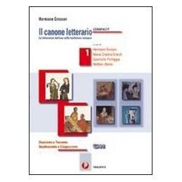 CANONE LETTERARIO COMPACT 3  800 900
