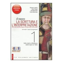 NUOVO SCRITTURA E INTERPRETAZ. 1 (ROSSA)