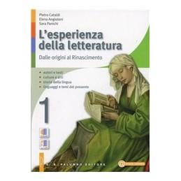 ESPERIENZA DELLA LETTERATURA 1+STUD1+ANT