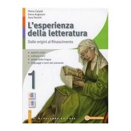 ESPERIENZA DELLA LETTERATURA 1+STUD.1