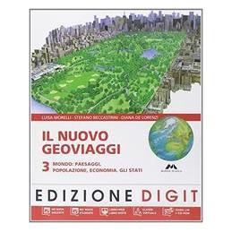 NUOVO GEOVIAGGI 3  MONDO +ATLANTE 3