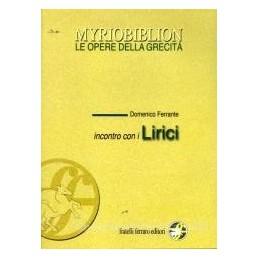 INCONTRO CON I LIRICI