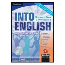 INTO ENGLISH 3 +WB +CD +DVD