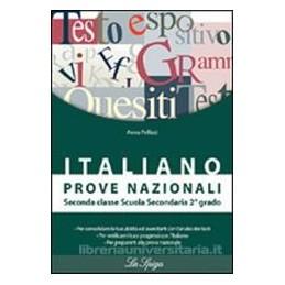 ITALIANO PROVE NAZIONALI X 2 MEDIA