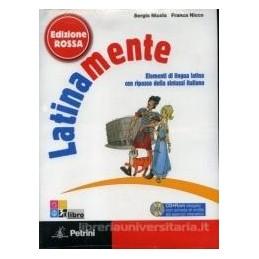 LATINAMENTE EDIZ.ROSSA +VOCAB. +CD ROM