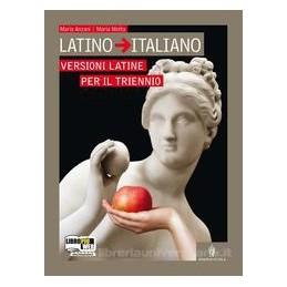 LATINO ITALIANO  VERSIONI LATINE PER TR