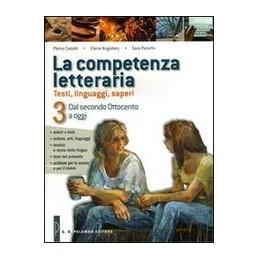 competenza-letteraria-la-dal-secondo-ottocento-a-oggi-vol-3