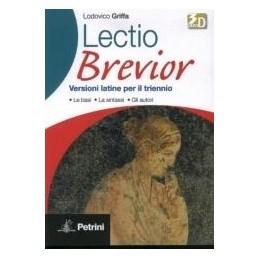 LECTIO BREVIOR  VERSIONI LATINE PER TR