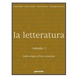 LETTERATURA 1  ORIGINI ETA`COMUNALE +GUI
