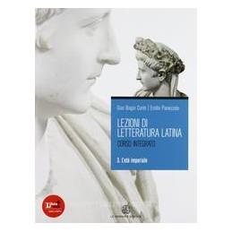LEZIONI DI LETTERATURA LATINA 3 X TR LIC