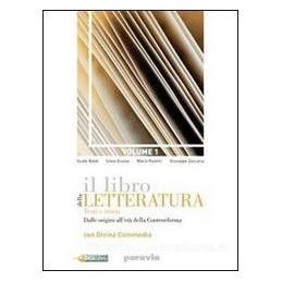 LIBRO DELLA LETTERATURA 3A