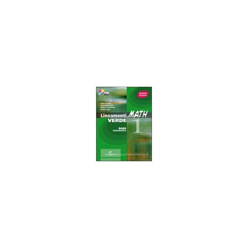 LINEAMENTI.MATH VERDE  ALGEBRA 2 +CD ROM