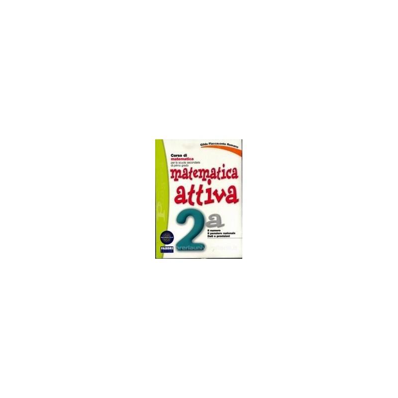 MATEMATICA ATTIVA 2A+2B +MIO QUAD.MAT.2