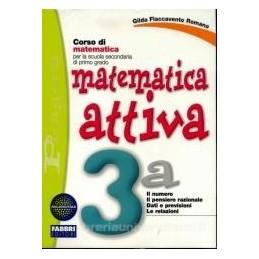 MATEMATICA ATTIVA 3A+3B +MIO QUAD.MAT.3