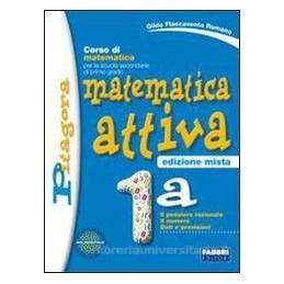 MATEMATICA ATTIVA ED.MISTA 1A+1B +2 ALL.