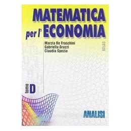 MATEMATICA PER L`ECONOMIA D  ANALISI