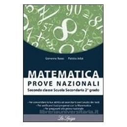 MATEMATICA PROVE NAZIONALI X BN.
