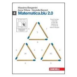 MATEMATICA BLU 2.0 4 (O+Q PIGR. TAU ALFA