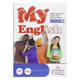 MY ENGLISH 2 +COMPANION +CD 2 X BN
