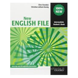 NEW ENGLISH FILE INTERMEDIATE MISTO