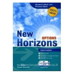 NEW HORIZONS OPTIONS INTERMEDIATE+PB+MDB