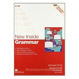 NEW INSIDE GRAMMAR +CD ROM