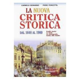 NUOVA CRITICA STORICA 2 DAL 1648 AL 1900