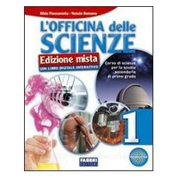 OFFICINA DELLE SCIENZE (MISTA) 1 +DVD+AP