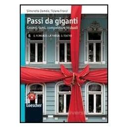 PASSI DA GIGANTI B  ROMANZO POESIA TEATR