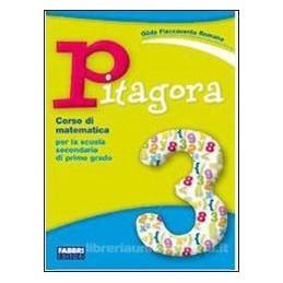 PITAGORA 3 +MIO QUADERNO DI MATEMATICA 3