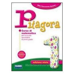 PITAGORA EDIZ.MISTA 1 +PREPARATI A PROVA