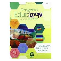 PROGETTO EDUCAZIONI (4 TOMI) +CD ROM XBN