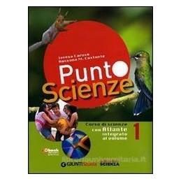 PUNTO SCIENZE 1 +ATLANTE 1 +DVD