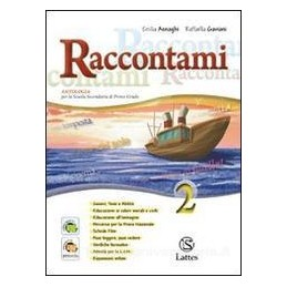 RACCONTAMI 2 +LETTERATURA+QUAD.INVALSI 2