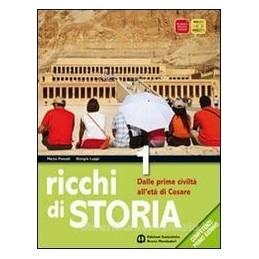 RICCHI DI STORIA 1 +ATLANTE