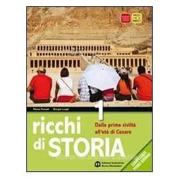 RICCHI DI STORIA 2 +ATLANTE